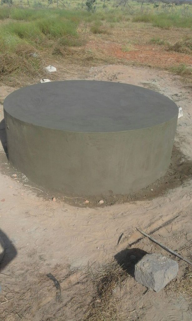 Water Tank Base Construction